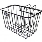 Black ATB/STD Front Basket with Holder