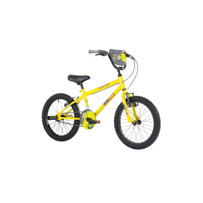 Bumper 12″ 14″ 16″ 18″ Stunt Rider Bike Yellow
