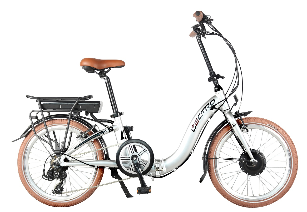 Lectro Easy Step Folding Bike