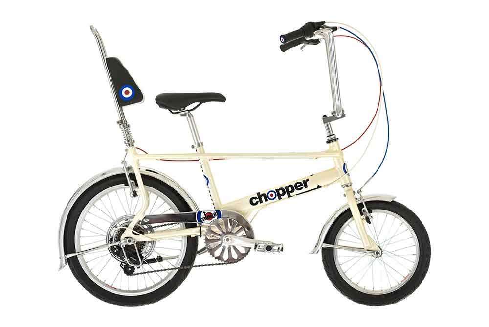 Raleigh Chopper Pearl White